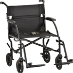 18 inch Ultra Lightweight Transport Chair - The Ultra Lightweight Transport Chair 18 in. 348 has a lightweig