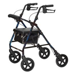 ProBasics Deluxe Aluminum Rollator - Features and Benefits: