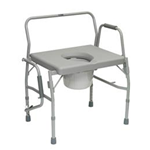 ProBasics Bariatric Drop-Arm Commode - The