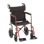 19 inch Transport Chair with 12 inch Rear Wheels - 330 - The Lightweight Transport Chair 19 in. 330 has a lightweight alu
