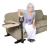 Assist-A-Tray - The Assist-A-Tray is a couch-side handle tha